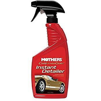 Mothers California Gold Instant Detailer Spray 16 oz. $2.99 Amazon Add on Item FS