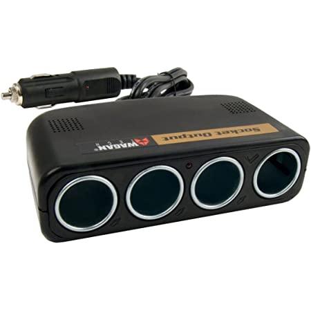 Wagan 4-Way 12V Automotive Socket Splitter and Extender, Cigarette Power Splitter ($4.70 w/ Free Prime Ship)