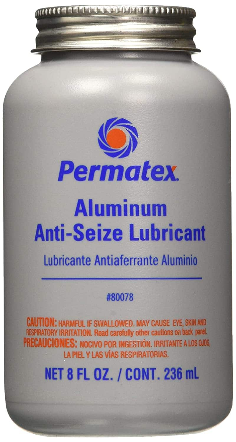 Permatex 80078 Anti-Seize Lubricant//Grease Aluminum Copper Brakes Bike Lube Best