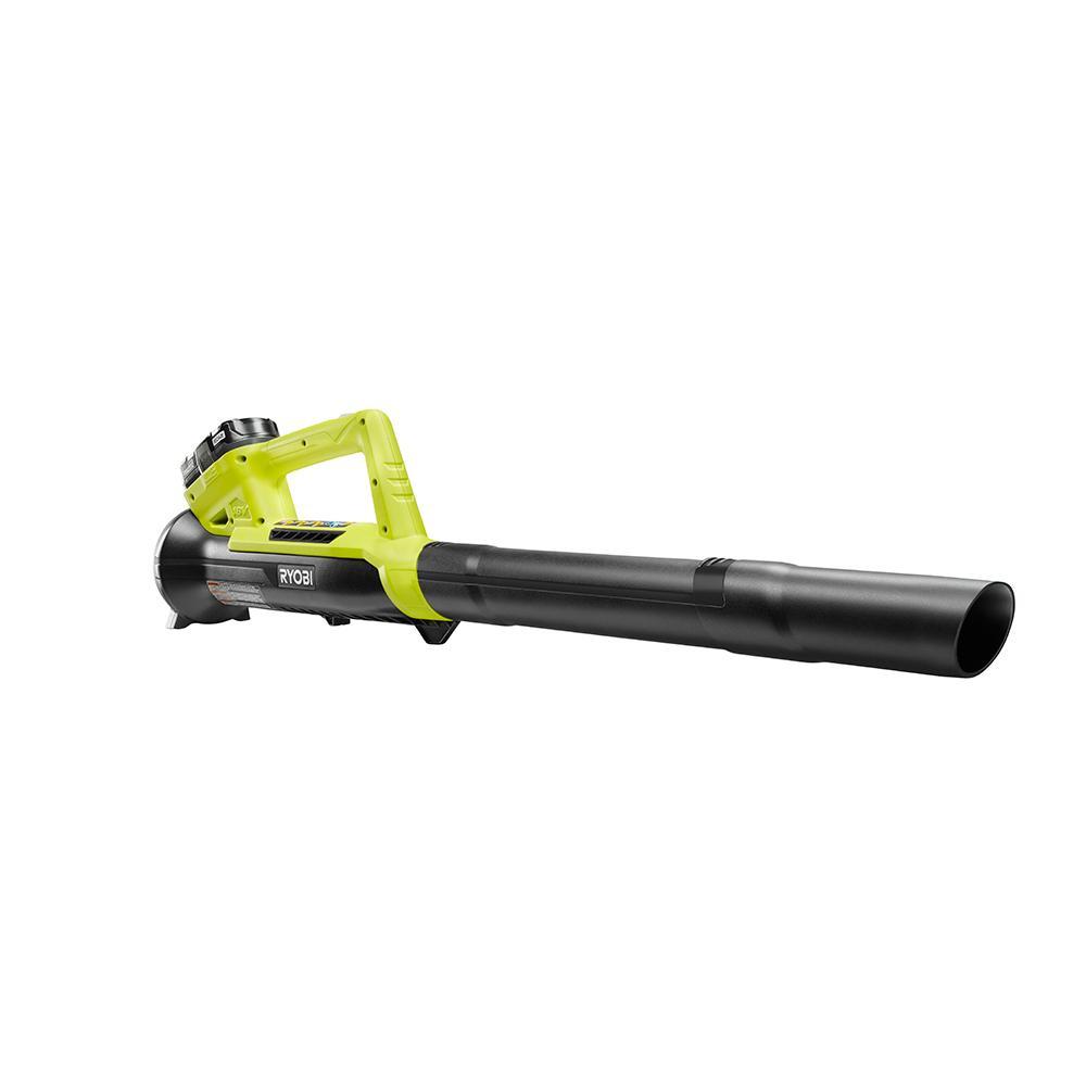 RYOBI ONE+ 18 Volt Lithium-Ion 200 CFM Leaf Blower Kit w/ Batt / CPO / $49.99 w/ Free Pickup or $7 Ship