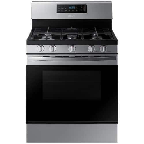 Samsung 5 Burners 5.8-cu ft Self-Cleaning Freestanding Gas Range (Stainless Steel) ($578 w/ Free Delivery)