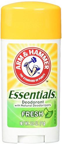 ARM & HAMMER Essentials Deodorant with Natural Deodorizers, Fresh Rosemary Lavender, 2.5 OZ ($1.25)