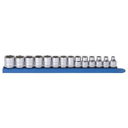 Gear Wrench 3/8 in. Drive Metric 6-Point Standard Socket Set (14-Piece) $14.99 after 25% disco and free store pickup or free ship at $35 $14.99
