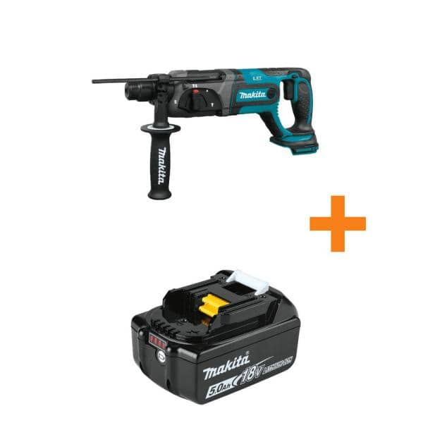 18V LXT Lithium-Ion Cordless 7/8 in Rotary Hammer, accepts SDS-PLUS bits, Tool Only with bonus 18V LXT 5.0Ah  ($159.00 w/ Free Ship)