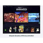 Disney Animated app for ipad $2.99 itunes (reg $9.99)