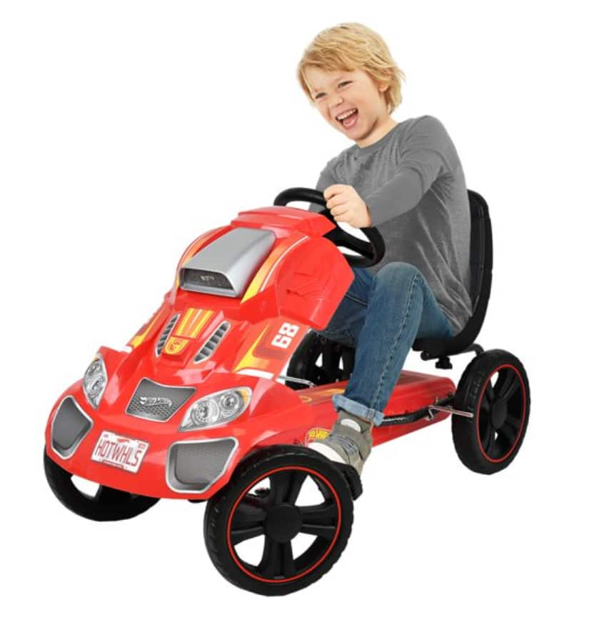 Hot Wheels Speedster Go Kart Ride On (Red) $131.65 + Free shipping