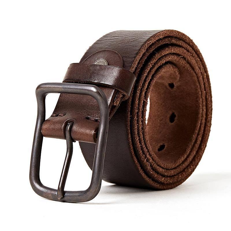 Tiosebon Men's Leather Belt (4 colors) $7.98 + Free shipping on $40+
