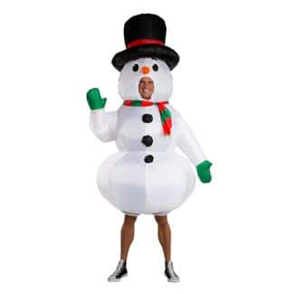 Inflatable Snowman Costume One Size $22.50 + Free shipping via Target