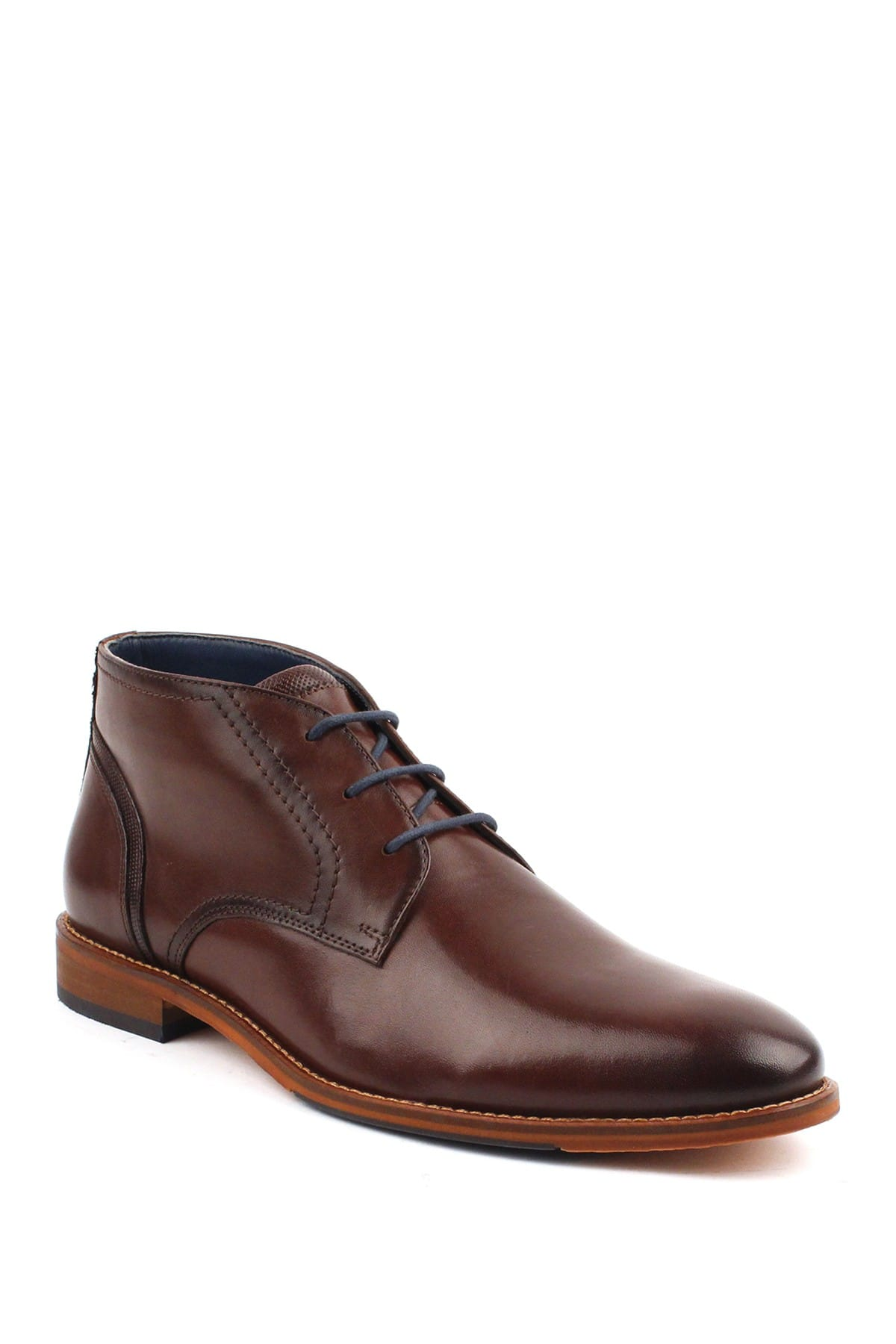 Modern Fiction Men's Mimicry Leather Boot (Cognac) $52.48 + Free shipping