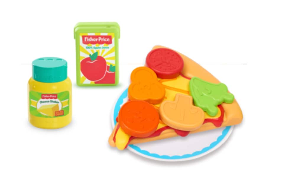 Fisher Price Stretchy Pizza Set $4.85 + Free store pickup at Walmart or Free Ship w/ Prime