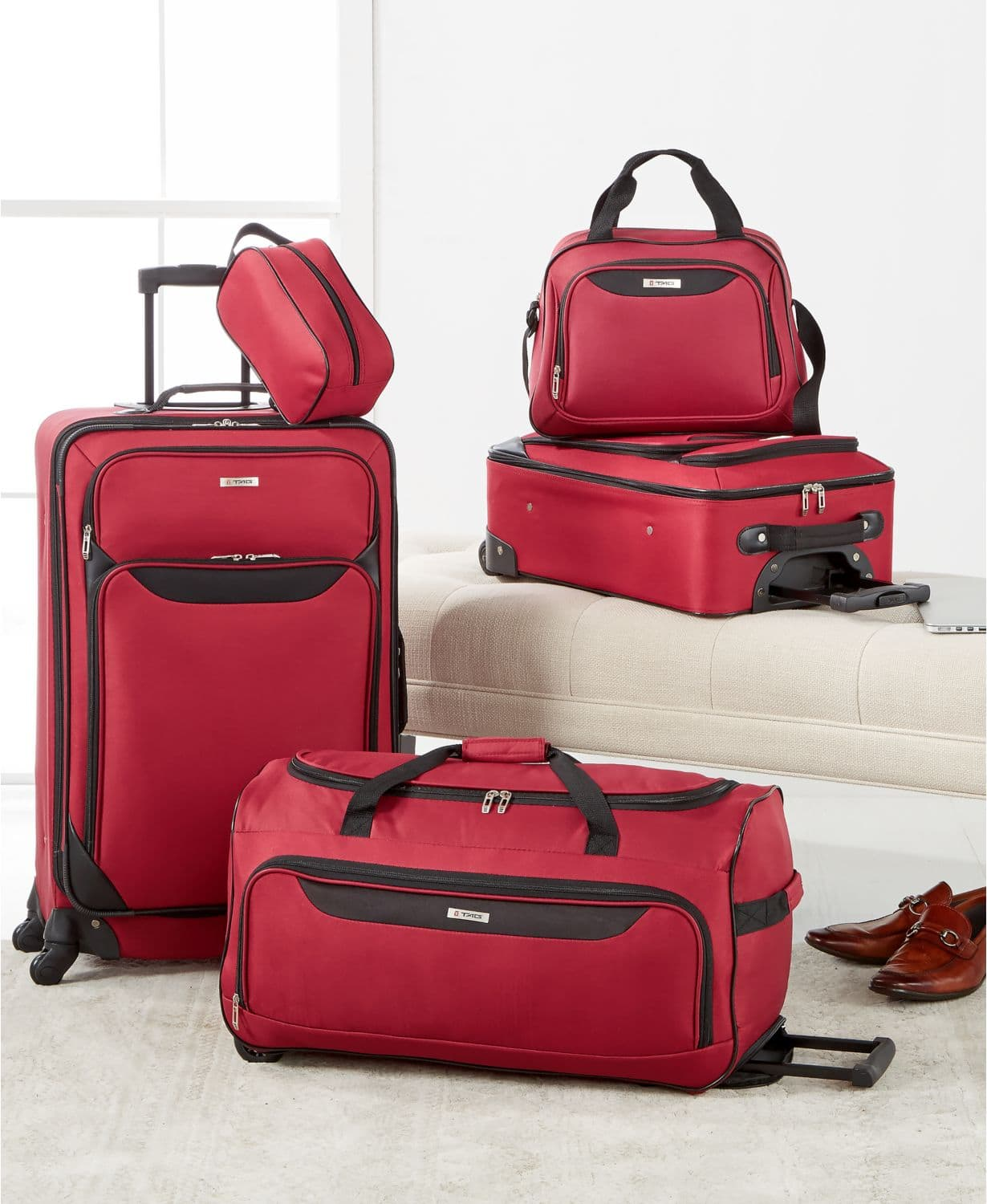 5-Piece Tag Springfield III Luggage Set (3 colors) $49.99 + Free shipping