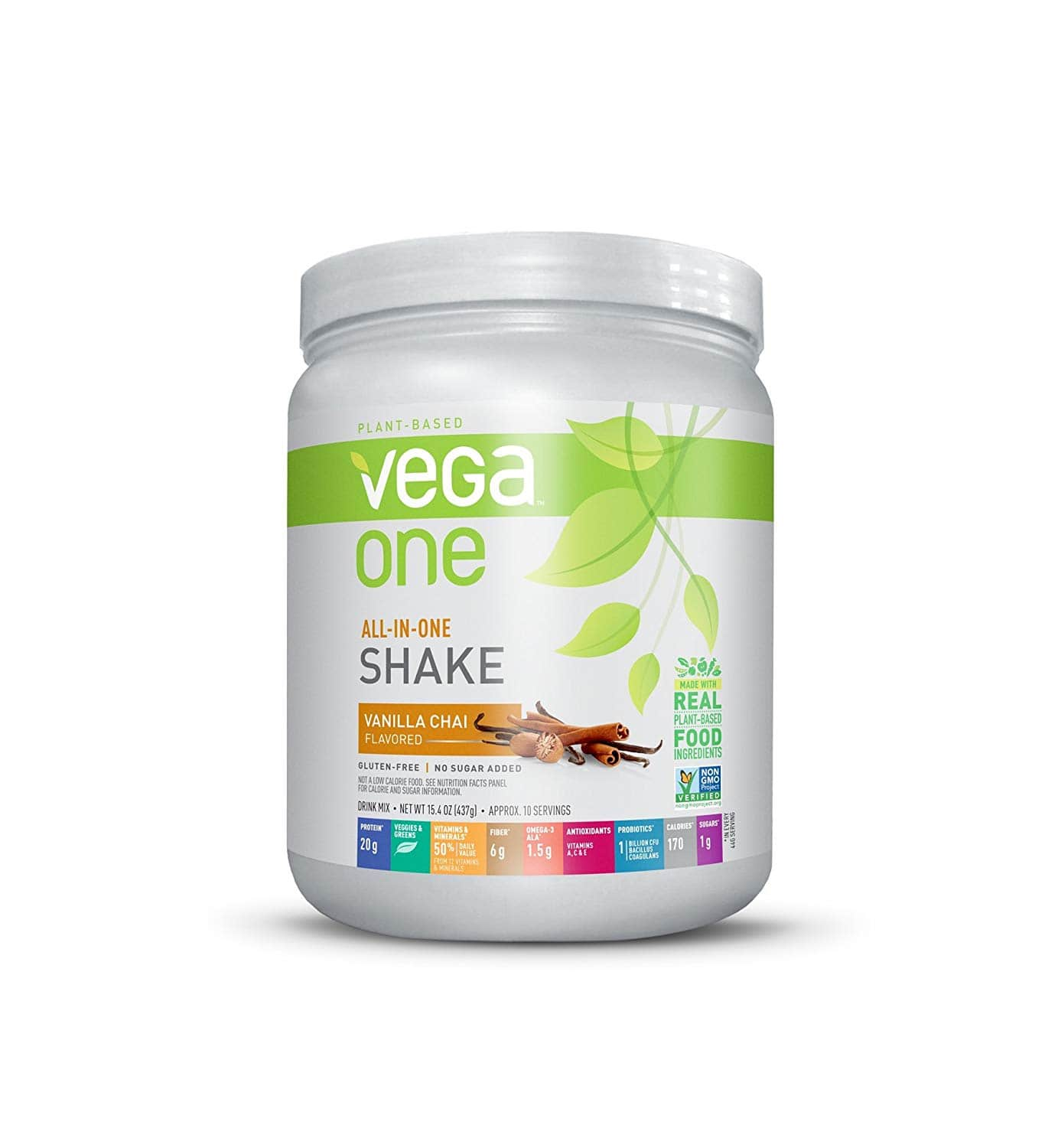 10-servings 15.4-oz Vega One All-In-One Nutritional Shake Vanilla Chai $18.86 + Free Shipping via S&S