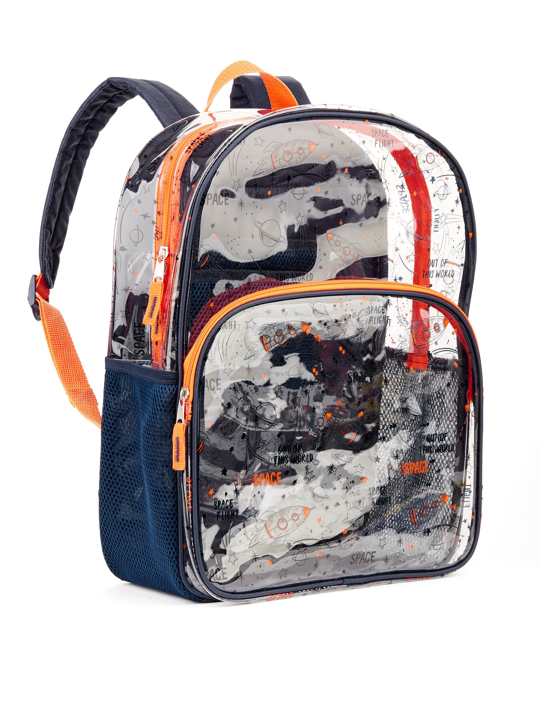 """16"""" Wonder Nation Clear Childrens Backpack $4.50 (3 colors) + Free store pickup at Walmart"""