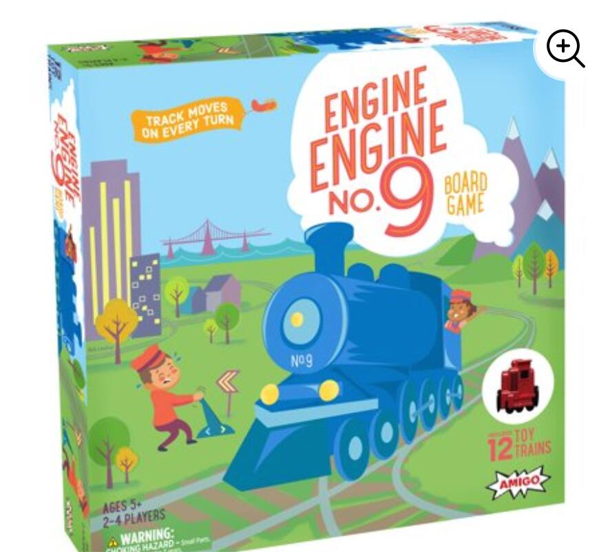 Engine No. 9 Kids Game with 12 Toy Trains $5.61 + Free store pickup at Walmart