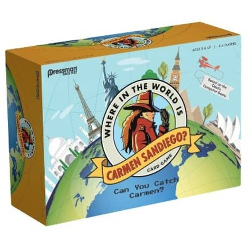 Where in the World is Carmen Sandiego? Board Game $7.49 + Free shipping via Target