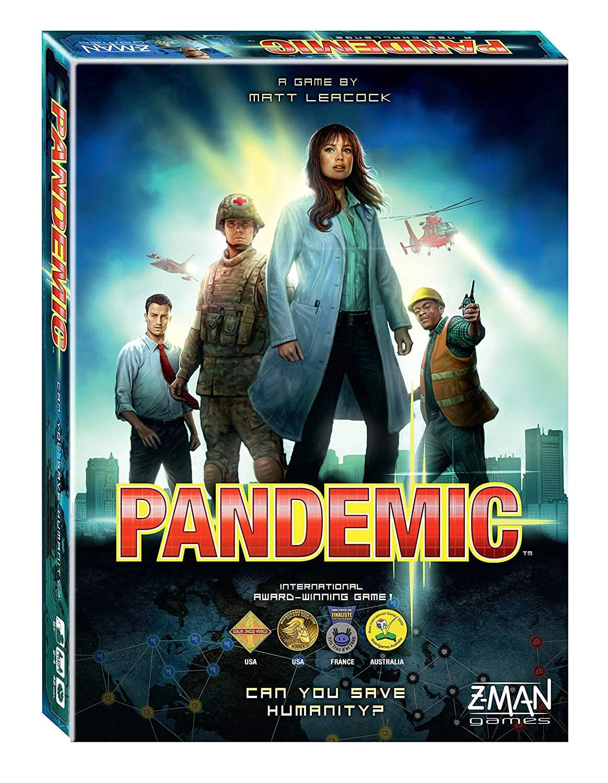 Pandemic Cooperative Board Game $21.49 + Free store pickup at Walmart