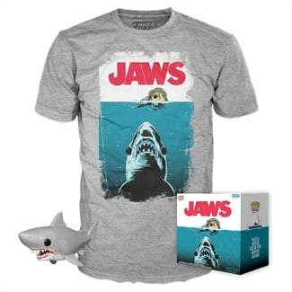 Funko POP! Movies Collectors Box: JAWS Great White Shark POP! & Adult Tee $12.49 + Free shipping via Target