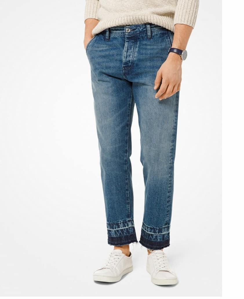 Michael Kors Men's Washed Straight-Leg Jeans $23.52 + Free shipping