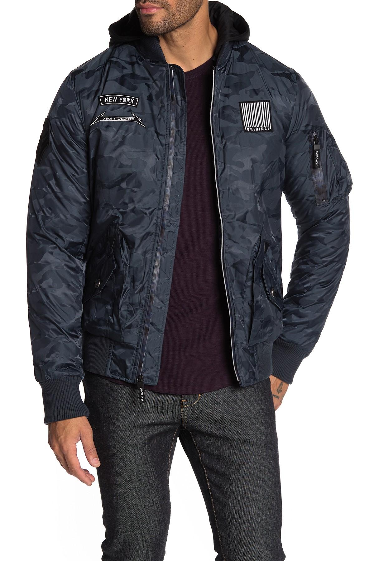 Men's XRAY Hooded Nylon Jacket (2 colors) $22.50 + Free Shipping on $89+