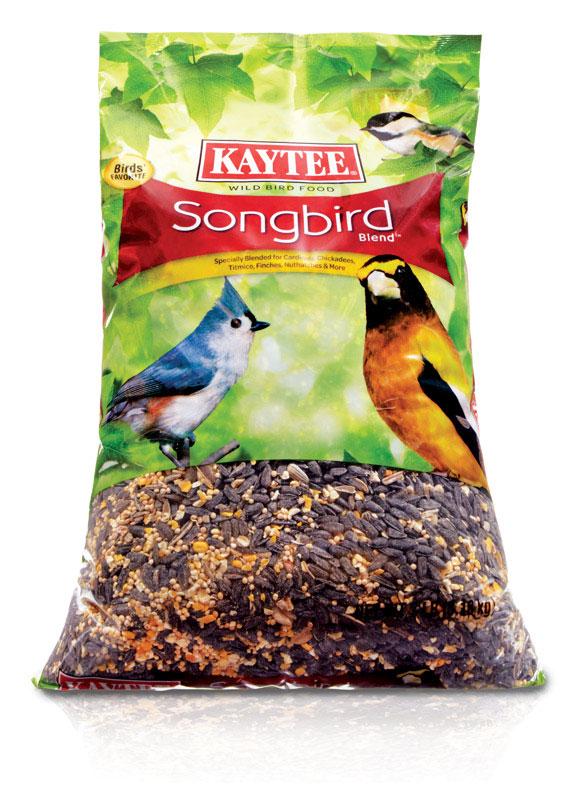 2 Bags Kaytee Songbird Wild Bird Food 7 lb bag or Kaytee Birders Blend 8 lb bag $13 ($6.50 ea) + Free store pickup at Ace Hardware