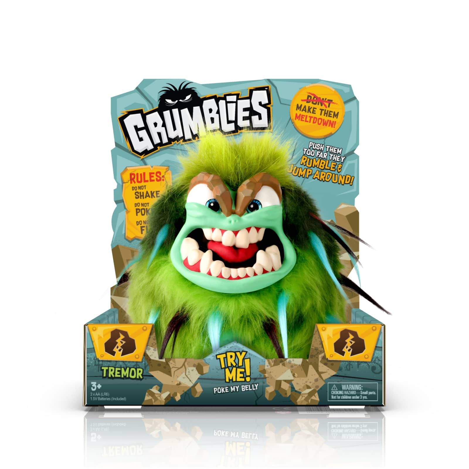 Grumblies Hydro Green $7.50 + Free store pickup at Walmart