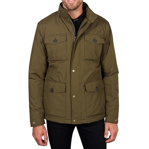 Haggar Water Resistant Hooded Parka (3 colors) $48.73 + Free shipping on $89+