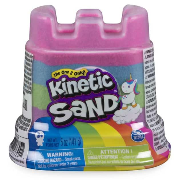 Kinetic Sand Rainbow 5 oz Single Container $1.24 + Free store pickup at Barnes & Noble