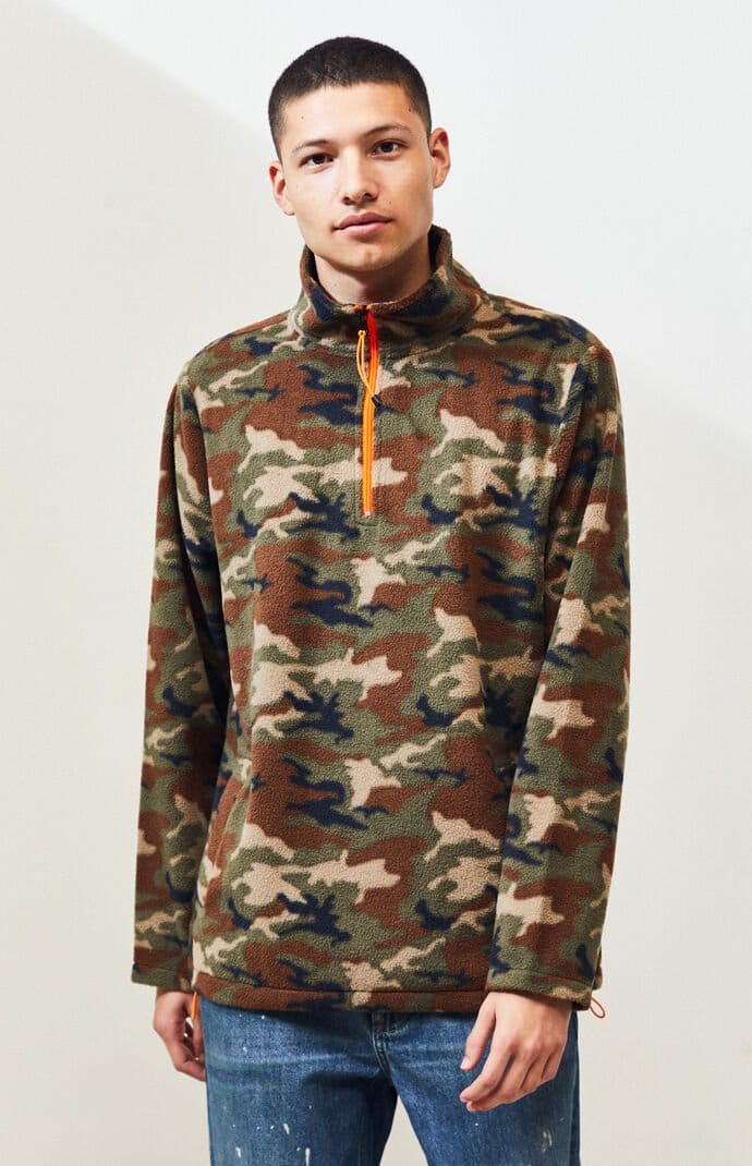 PacSun up to 70% off Clearance: Men's Camo Fleece $13.50, Sunglasses $2.49 & Beanies $2.40 & More + Free ship on $50+