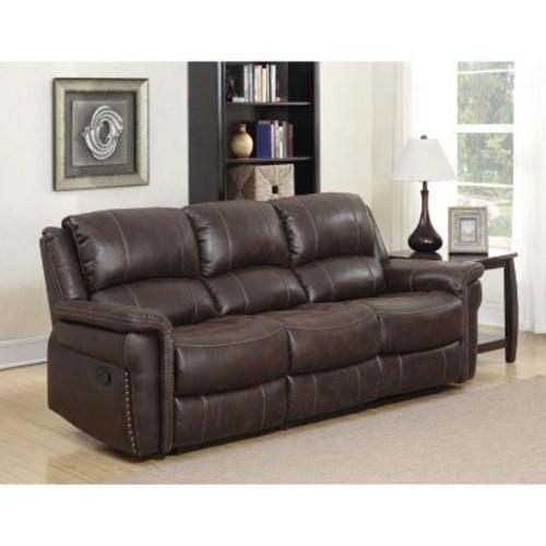 Sam's Club Members: Charles Manual Dual Reclining Sofa (brown) $600 + Free shipping
