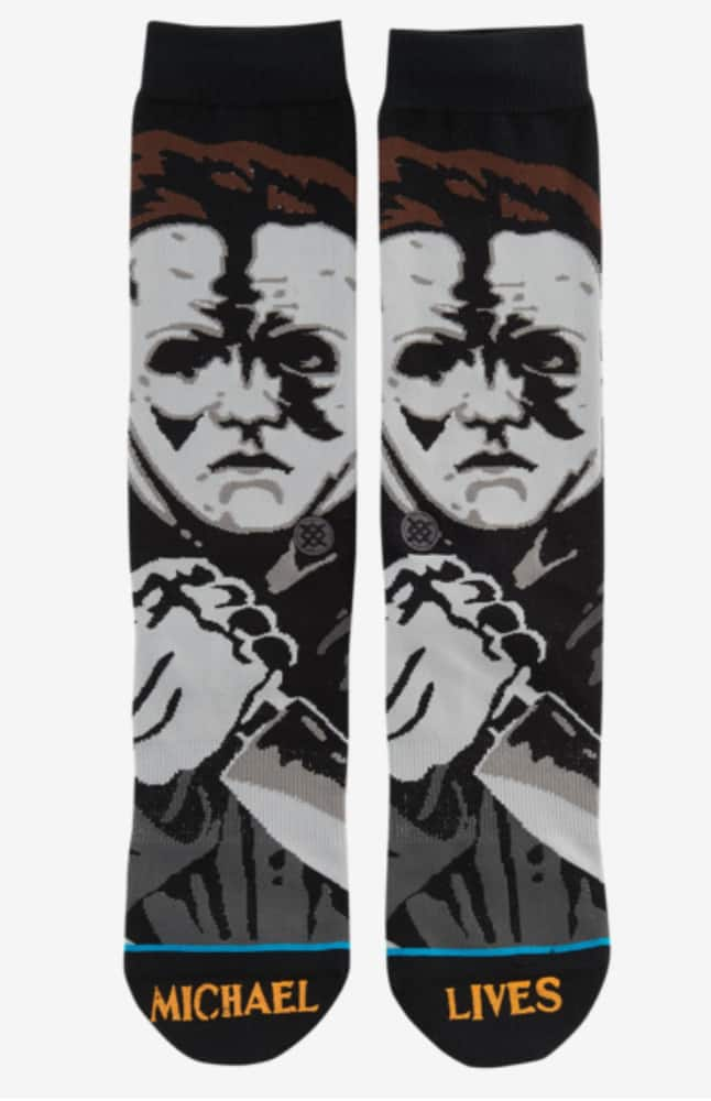 Stance Men's Crew Socks: Michael Myers, Karate Kid, Nas & More from $4 + Free Shipping