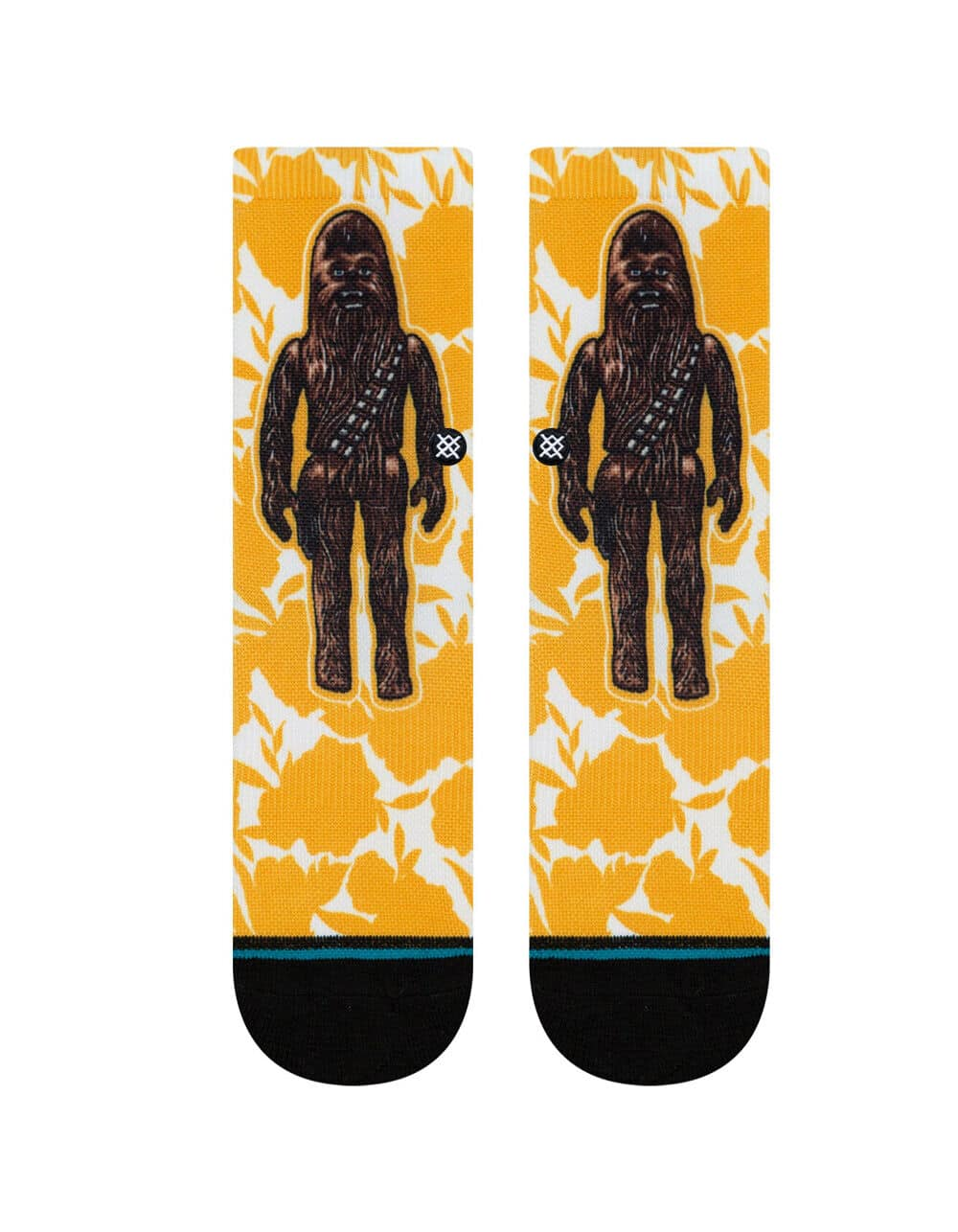 Stance Star Wars Floral Chewie / Chewbacca Kids Crew Socks (Large only) $4 + Free shipping