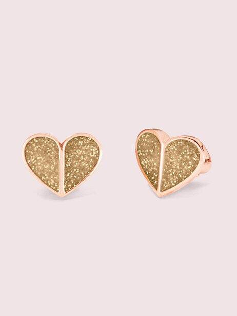 Kate Spade Milo Studs, Small Heart Studs & Cluster Studs Earrings $20.40 each + Free shipping