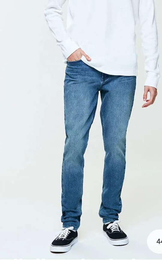 PacSun Men's Medium Stacked Skinny Jeans & Dark Rinse Slim Fit Jeans $18 each + Free shipping on $50+