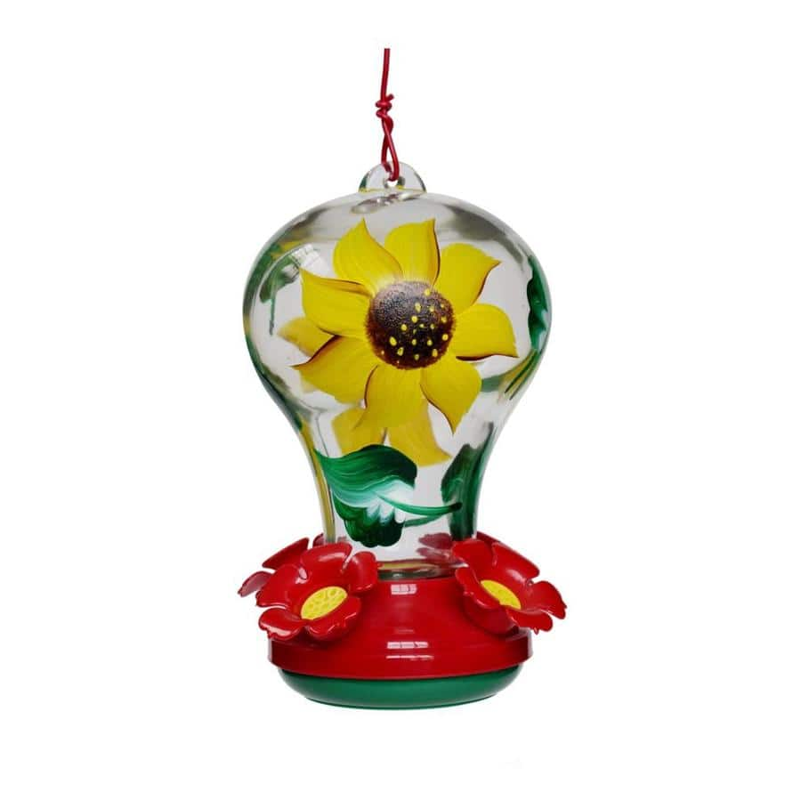 Garden Treasures 27 oz Hand Painted Hummingbird Feeder $2.50 + Free store pickup at Lowe's