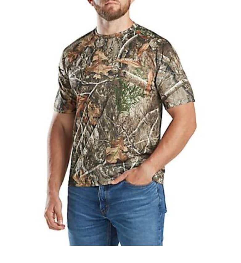 Magellan Outdoors Men's Eagle Pass Mesh T-shirt $1.74, Men's Deluxe Game Vest $3.74, Women's Boone Jacket $5 & More + F/S on $25+