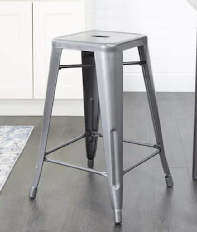Cheyenne Products Gunmetal Counter Stool $20 + Free store pickup at Lowe's