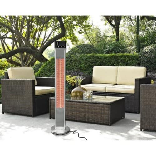 Sam's Club Members: Westinghouse 1500W Freestanding Electric Patio Heater + Remote control $79.81 + Free shipping