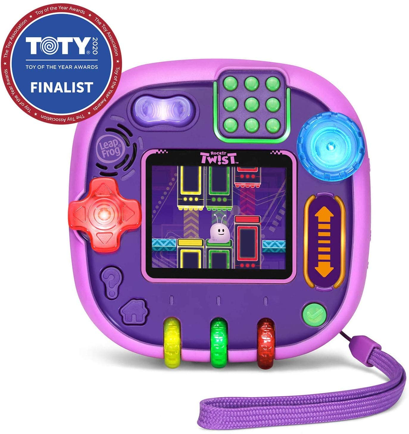 LeapFrog RockIt Twist Handheld Learning Game System (Purple only) $30 + Free shipping