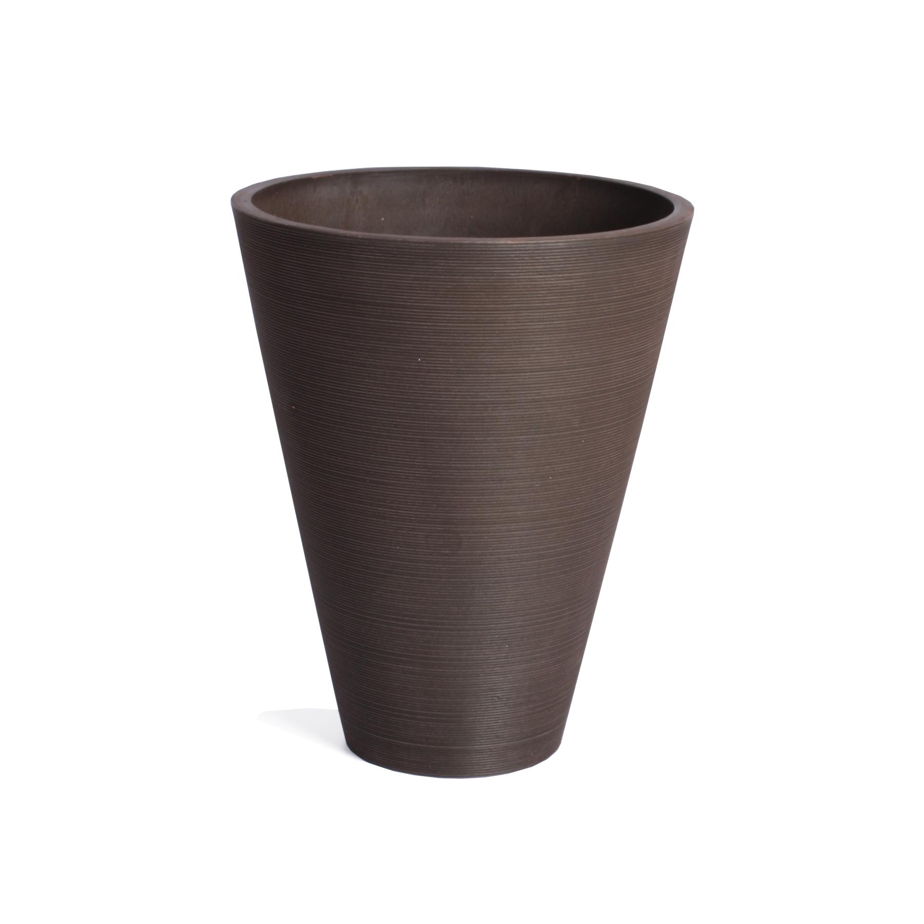 14 inch Veradek Kobo Round Planter (Espresso) $15 + Free shipping w/ $35