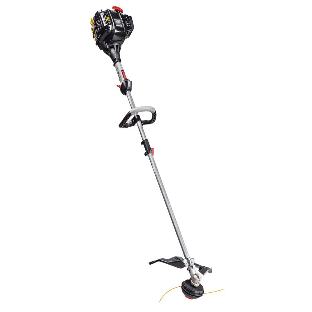 Troy-Bilt 32 cc 4-Cycle Straight Shaft Attachment Capable Gas Trimmer w/ JumpStart Capabilities $130 + Free shipping