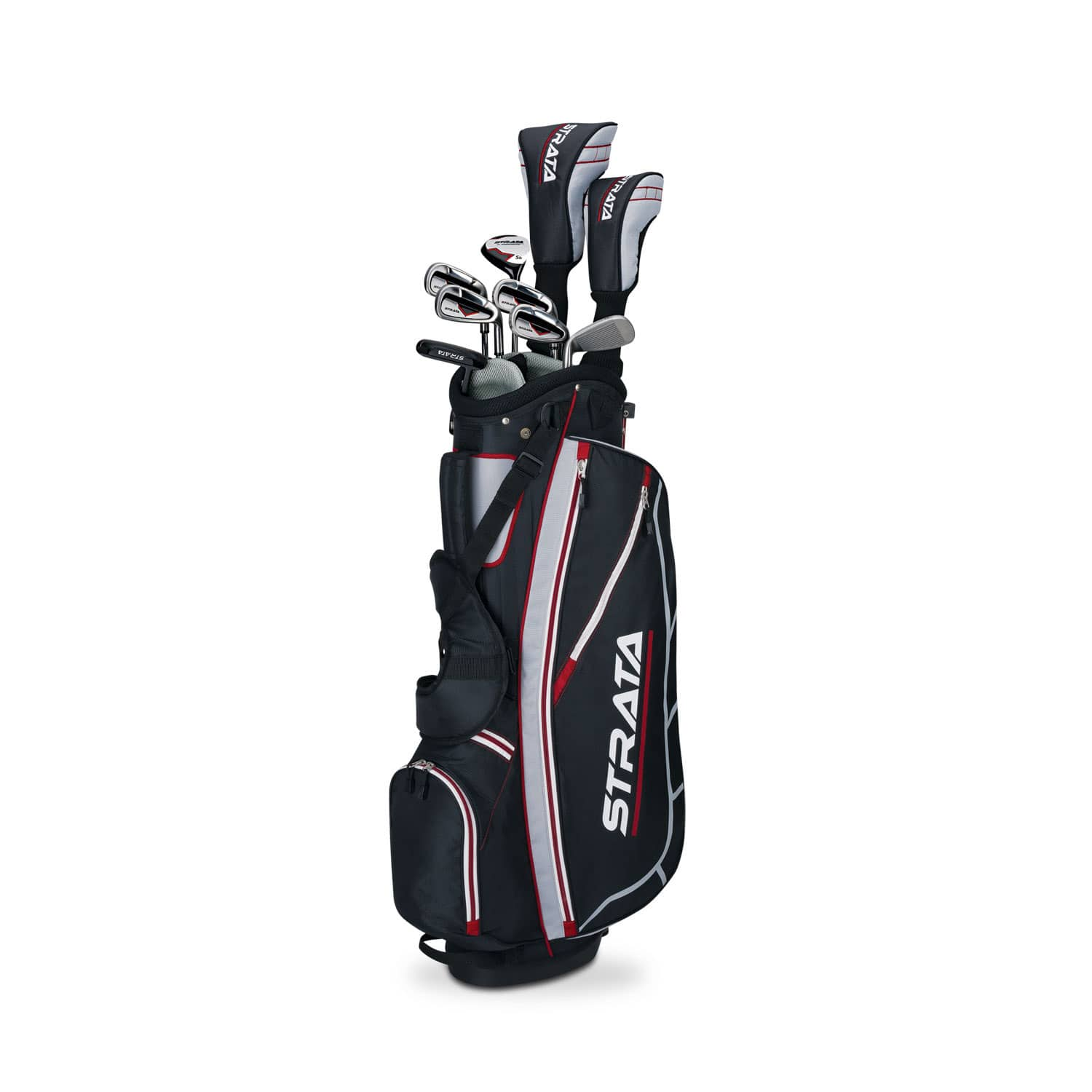 12-Piece Callaway Men's Left-Handed Strata Complete Golf Club Set with Bag $163 + Free shipping