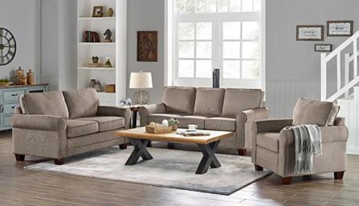 Piece Adaline Sofa Loveseat And Chair