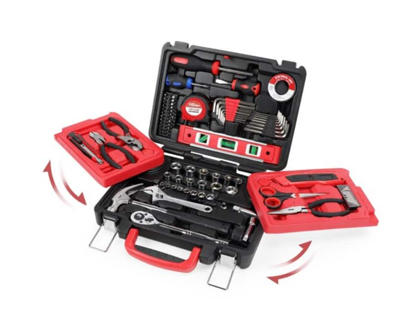 Hyper Tough 102-Piece All Purpose Tool Set $38.57 + Free Shipping