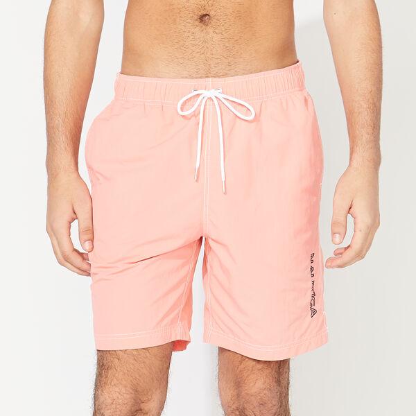 "Nautica Mens' 8"" Logo Quick-Dry Swim Trunks (Multi colors) $17 + FS w/ $50+"