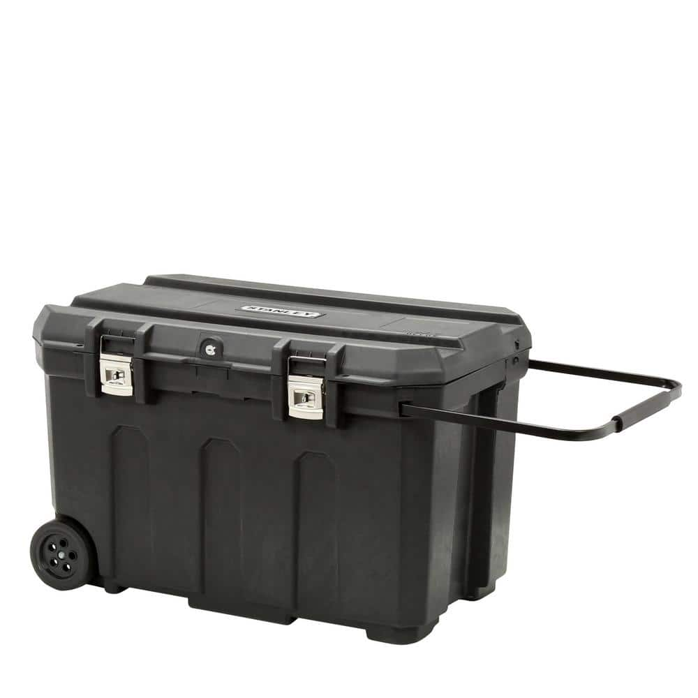 """23"""" Stanley 50 gal Mobile Tool Box $37 + Free store pickup at Home Depot"""