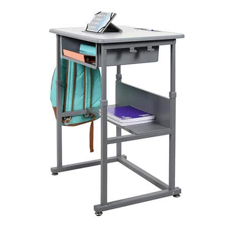 """Sam's Club Members: 24.5"""" to 42""""Adjustable Sitting or Standing Desk $127.90 + Shipping"""