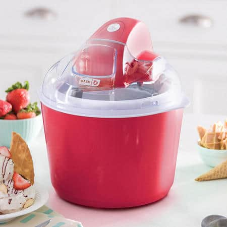Sam's Club Members: Dash Deluxe 1 QT Ice Cream Frozen Yogurt and Sorbet Maker $25 + Shipping