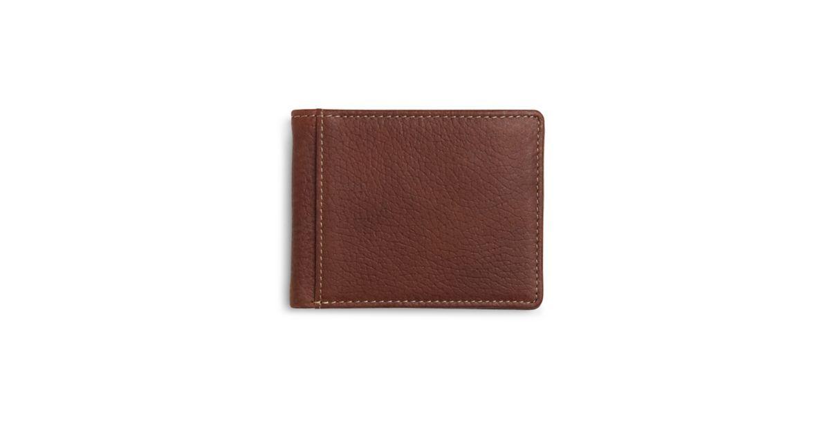 Clarks Men's Devin Ryan Cognac Wallet $12 & The Gower Duffel $48 + Free Shipping