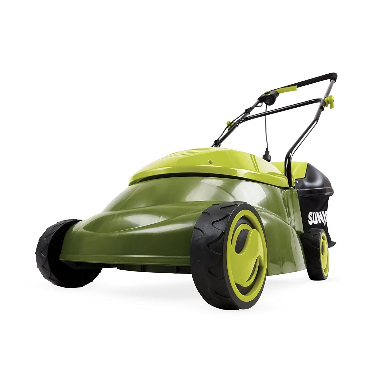 "14"" Sun Joe 13 Amp Electric Lawn Mower w/Side Discharge Chute (Green) $83.35 + Free shipping $83.85"