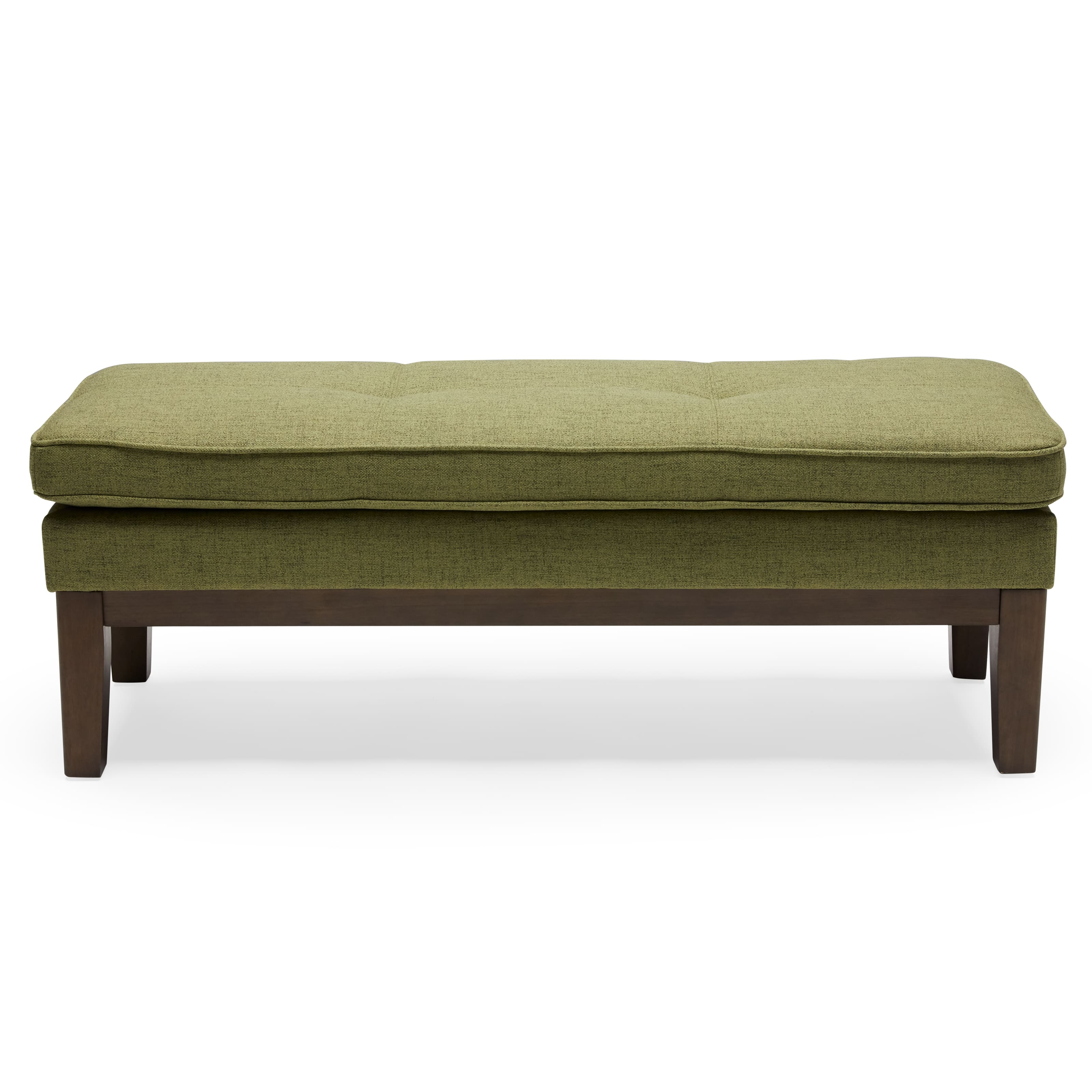 MoDRN Mid-Century Pullman Bench (green) $54 + Free shipping